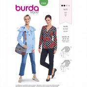 6368 Burda Pattern: Misses' Blouses